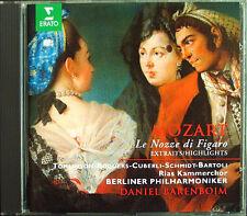Mozart le nozze di Figaro Cecilia Bartoli Tomlinson Cuberli ROSE Barenboim 1cd