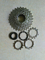 Clip On Sun Road Bike 10 Speed 10S MTB Bicycle Freewheel Cog 11-28T Cassette