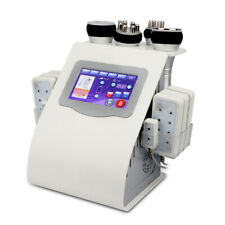 40K Ultrasonic Cavitation Machine 6 in 1 Vacuum RF Lipo Laser Fat Cellulite Burn