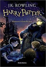 Harry Potter i kamien filozoficzny, J.K. Rowling, polska ksiazka, polish book