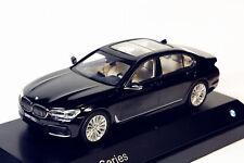 1/43 Dealer Edition BMW New 7 Series 750Li Black DIECAST MODEL