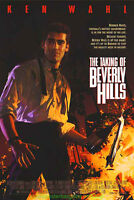 THE TAKING OF BEVERLY HILLS MOVIE POSTER Original DS 27x40 KEN WAHL 1992