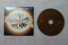 """CD AUDIO MUSIQUE / MADEMOISELLE """"DO YOU LOVE ME?"""" CD SINGLE  2T 2001 CARDSLEEVE"""