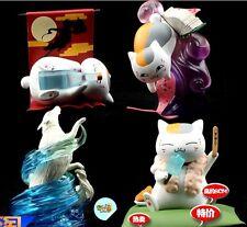 Natsume's Book of Friends Nyanko Sensei 4 pcs set figures toys gift new #B