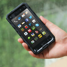 Poetic Revolution【Built-In Screen】Hybrid TPU Skin Case For Amazon Fire Phone BLK