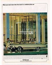 1964 Mercury Park Lane Breezeway Automobile Car Vtg Print ad