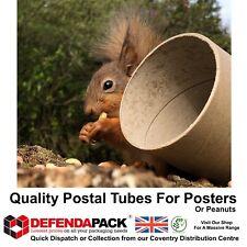 "3"" Wide Diameter POSTAL TUBES Posting Posters Artwork & More 8"" to 65"" Long"