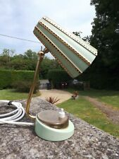 RARE VINTAGE FRENCH  LAMP ORIGINAL ENAMALED WORKING IN GOOD CONDITION