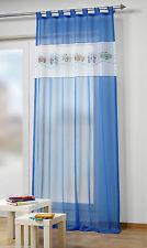 Gardinen & Vorhänge mit Schlaufenaufhängung aus Voile für Kinder