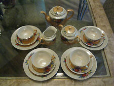 Vintage 17pc. Japanese Lusterware Tea Set
