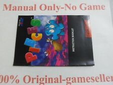 Pieces SNES Manual Only, 100% original, Free Shipping