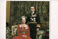Postcard Queen Margrethe II & Henrik, Prince Consort of Denmark