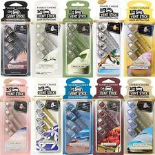 Yankee Candle Vent Sticks Car Air Freshener 4 Pack - Various Scents Available