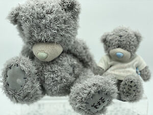 Me To You Tatty Teddy Bear Lot X 2, Blue Nose, Carte Blanche Daddy's Little Girl