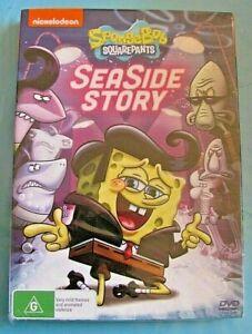 SPONGEBOB SQUAREPANTS SEA SIDE STORY DVD NEW SEALED Region 4 see below