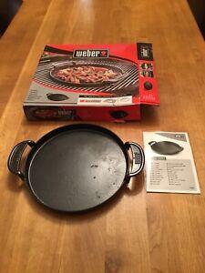 Weber Gourmet BBQ GBS Cast Iron Griddle Pan