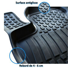 4 TAPIS SOL CAOUTCHOUC 3D TPE SUR MESURE OPEL ZAFIRA B 2005-2012 ENJOY DESIGN