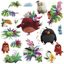 ANGRY BIRDS the MOVIE wall stickers 17 decals VIDEO game character Pig Big Red +