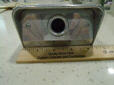 Vintage Hh Robertson Cast Aluminum Floor Mount Electrical Pass Through Box