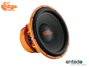 SP AUDIO SP-15CX 38cm 6000W Car Hifi Subwoofer Lautsprecher 15 Zoll Bass KFZ PKW