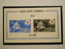 1943 - Romania - Red Cross Romania, Mi. Bl.20, MNH