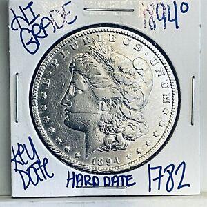 1894 O MORGAN SILVER DOLLAR #1782 FREE SHIPPING RARE KEY DATE HIGH GRADE