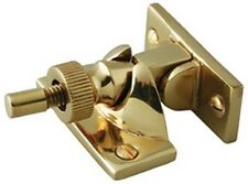 BRASS BRIGHTON SASH FASTENER - WINDOW - POLISHED BRASS FINISH