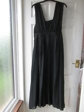 Changes by Together Full Length Sleeveless Black Dress with Sequin/Bead Size 14
