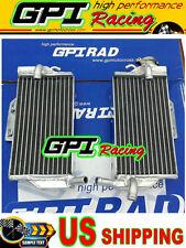 GPI RH&LH Aluminum radiator Honda CR250 CR250R CR 250R 05 06 07 2005 2006 2007