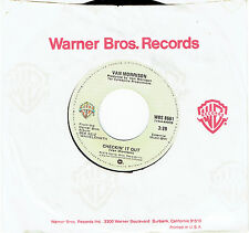 "VAN MORRISON - CHECKIN' IT OUT - 7"" 45 VINYL RECORD - 1978"