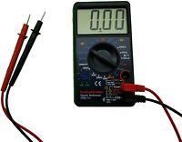 Large Screen Digital Multimeter 7 Test Functions AC DC Voltage Resistance Meter