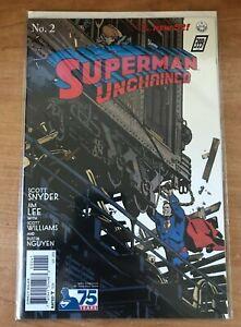 Superman Unchained #2:John Paul Leon 75th Ann. 1:100 Ratio 1930s Variant Cover