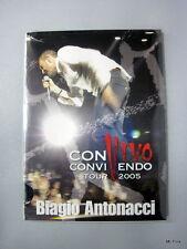BIAGIO ANTONACCI Convivendo Tour 2005 Dvd Video Universal New Nuovo