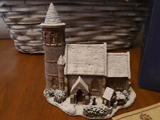 """Lilliput Lane """"St. Stephen's Church"""" 1996 Mib with deed perfect condition"""
