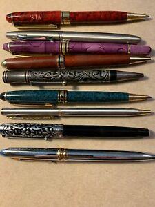 Unique Ballpoint Pen Lot (9) ~ Varied