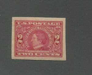 United States Postage Stamp #371 Mint Lightly Hinged VF OG