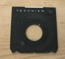 original Linhof IV V 5x4 Technika  Lens board with 34.7mm compur copal 0 hole