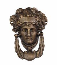 DOOR - CAST IRON ATHENA HEAD DOOR KNOCKER BRONZE COLOUR # 6JP72