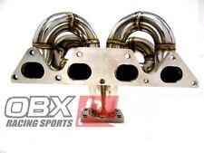 OBX T3/T4 Turbo Header Fit 92-96 Prelude SI H23 90-93 Accord F22A Non-VTEC