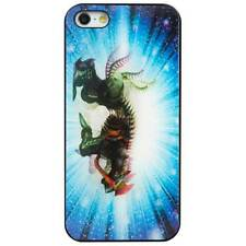 Cygnett Tonic iPhone 5S 5 SE 3D Motion Dragon Moving Image Case/Cover/Skin Blue