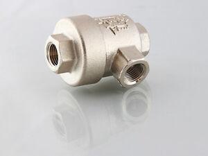1/8 Inch Bsp Quick Exhaust Valve Nickel plated
