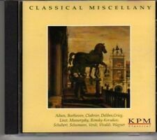 (BV413) KPM Classical Series, Classical Miscellany - 2001 CD