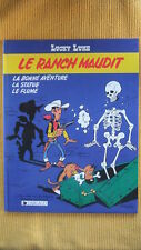 LUCKY LUKE T. 26 : LE RANCH MAUDIT - E.O. -1986- MORRIS - FAUCHE - LETURGIE