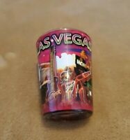 NEW shot glass from Las Vegas colorful wrap travel souvenir