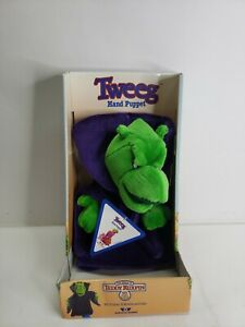 1986 Worlds of Wonder TWEEG Hand Puppet Vintage Teddy Ruxpin NEW