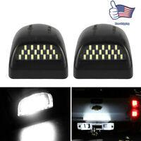 2pcs LED License Plate Light Lamp For 1999-2013 Chevy Silverado Avalanche Bright