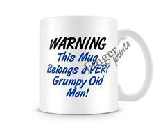 Belongs A Very Grumpy Old Man Mug