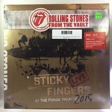 Rolling Stones - Sticky Fingers Live At The Fonda Theatre 2015 3LP NEW W/ DVD