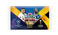 20 x Sealed Packs 2019 2020 Match Attax Uefa Champions Soccer Trading Cards