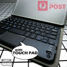 Bluetooth Keyboard with Touch Pad Leather Case Cover for HUAWEI MediaPad T3 8.0
